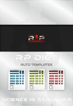 rp diet templates gain muscle and fat. Black Bedroom Furniture Sets. Home Design Ideas