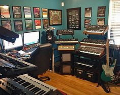 Home studio for a serious keyboard player