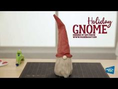 Create Easy DIY Holiday Gnomes using Foam Cones and Felt! - YouTube