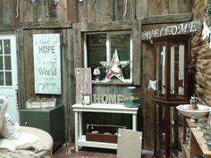 Barn Sale Christmas room