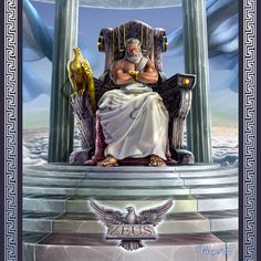 MONTE OLIMPO: Ilustrações da Mitologia Grega