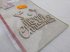 Scrap Collection Madera NAVIDAD Merry Christmas dK Design