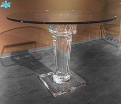 MODELLO LV24 #tavolo #trasparente #acrylic #diningtable #plexiglass #desk #home #office #madeinitaly http://www.eldoradosas.it/tavoli-da-pranzo-3.html
