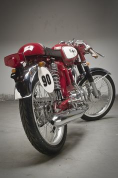 Honda S90 Cafe Racer from ACE Cafe...LOVE IT!