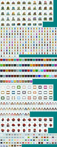 Animal crossing new leaf hair colour guide … | Animal Crossing | on