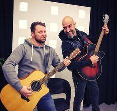 """The duet for the upcoming Christmas concert in Ausburg """"Jürgen und Ich"""""""