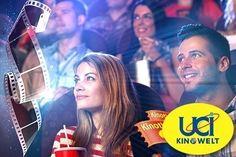 Groupon Gutschein – 5 UCI Kinokarten für 28 Euro