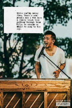 Pinning because the lyrics are beautiful and so is Tyler I in this