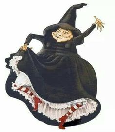 Nanny ogg goes dancing queen...