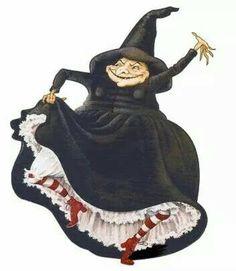 Nanny ogg goes dancing queen...