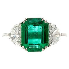 emerald ring - For my sweet Elle - because each daughter should get a piece of jewelry with their birthstone ; )