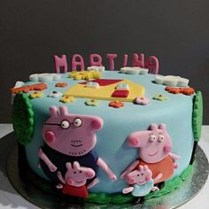 Peppa pig y su familia