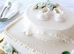 Baptism cake by Sogni di Zucchero, via Flickr