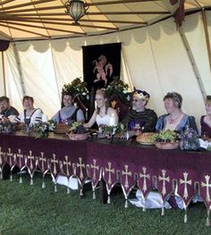 medieval weddings, medieval costumes, themed weddings, medieval banquets, handfasting , medieval wedding dresses, medieval banners,