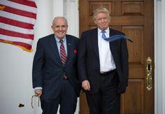 Giuliani out as Trump narrows diplomat pick