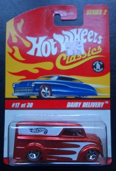 Hot Wheels Classics Dairy Delivery #17 of 30 Series 2 (Red) #HotWheels
