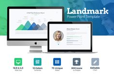 Landmark Business PowerPoint Template by Slidepro on Etsy https://www.etsy.com/listing/567782909/landmark-business-powerpoint-template