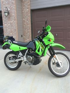 My 2006 Kawasaki KLR 650. What a great bike! As versatile as the day is long.