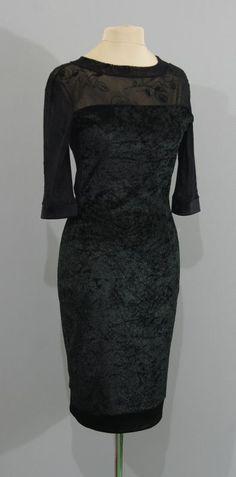 Черное бархатное платье, Киев, Украина