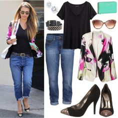 """""""Get The Look: Jessica Alba"""" by carlosshoes on Polyvore"""