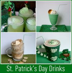 St. Patrick's Day Food and Drink ideas....Need to remember this for March!!!