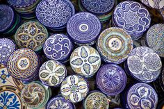 Photo about Handcrafts shot at the market in Marocco. Image of plate, morocco, gift - 18103959 Moroccan Design, Moroccan Style, Moroccan Blue, Moroccan Room, Moroccan Pattern, Moroccan Decor, Kintsugi, Moroccan Plates, Moroccan Dishes