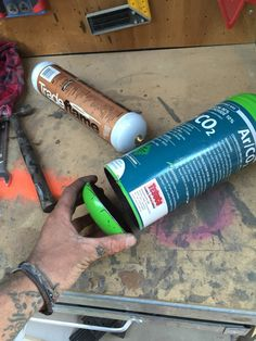 I the cut the end off an old welding gas bottle.