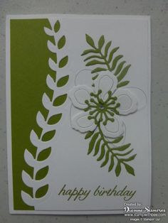 """So fun to go to the mailbox and receive a special card just for me.  """"Like"""" my Stampin'Up! Facebook Page"""