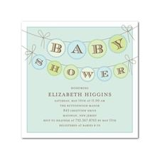 the only simple baby shower invite i have seen ...Tiny Prints.com
