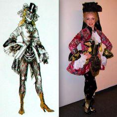 The Phantom of the Opera - Meg Giry masquerade costume