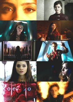 Silence must fall when the question is asked... oswin means silence and she FELL through the doctors time line after  the Great Intelligence askes the doctor his name hmmm