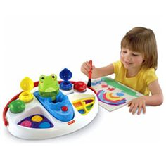 Fisher-Price Made by Me No Spill Paint Center