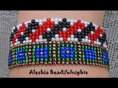 Loom Beaded Bracelet Tutorial - YouTube