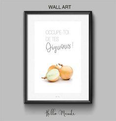 Legume oignon illustration expression française impression