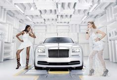 Rolls-Royce Wraith gets Inspired by Fashion