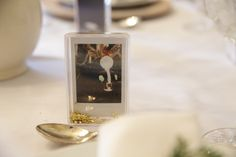 These sparkling little frames make the perfect place cards. Shop more:     Related posts: DIY Holiday Place Cards Centerpieces
