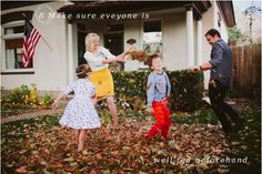 Perfect advise for clients: Ten Tips for Beautiful Family Photos