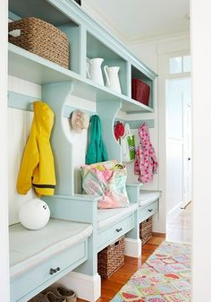 My next house needs a nice bright mudroom.  Too late for my kids; too early to think of grandkids!