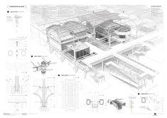 Proyecto: Metamorfosis_Regeneración del poligono industrial de Cobo Calleja PFC Iñigo Esteban Marina