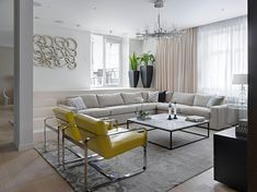 Moscow Stylish Apartment by Alexandra Fedorova - CAANdesign | Architecture and home design blog