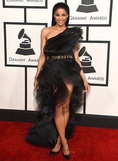 Ciara In Alexandre Vauthier - Best & Worst Red Carpet Looks at the 2015 Grammy Awards | 29secrets