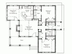 Simple Two Bedrooms House Plans for Small Home: Contemporary Two Bedroom House Plans With Porch And Backyard Deck ~ stepinit.com Bedroom Designs Inspiration