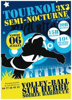 Tournoi de Volley Ball sur herbe 2013 à Feurs. Le samedi 6 juillet 2013 à Feurs.