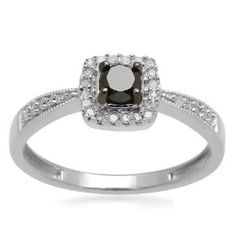 $69.00  Sterling Silver Black and White Diamond Square Top Promise Ring (1/4 cttw, I-J Color, I3 Clarity)  http://www.amazon.com/gp/product/B004VF66BW/ref=as_li_qf_sp_asin_il_tl?ie=UTF8=1789=9325=B004VF66BW=as2=marketsoftwa-20