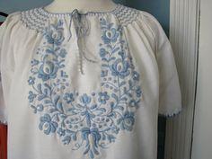 vintage embroidered blouse by VintageVillageMarket on Etsy, $25.00