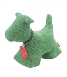 Cale-porte Max le chien vert - Monica Richards