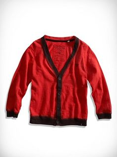 Little Boy Spray Paint Cardigan (2-7) at Guess