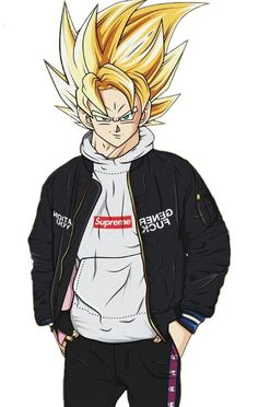Vegetto/Supreme Tupac Art, Drawing Superheroes, Goku Wallpaper, Cool Anime Pictures, Dark Anime Guys, Black Anime Characters, Animes Wallpapers, Cartoon Art, Dragon Ball