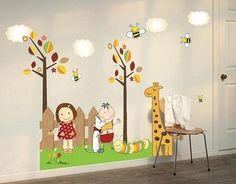 فروش استیکر دیواری کودکان و مزرعه حیوانا