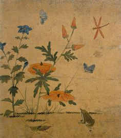 """Chochungdo painting, Shin Saimdang (申師任堂, October 29, 1504 – May 17, 1551) was a Korean artist, writer, calligraphist, noted poet, and the mother of the Korean Confucian scholar Yulgok. Often held up as a model of Confucian ideals, her respectful nickname was Eojin Eomeoni (어진 어머니; """"Wise Mother"""").[1][2] Her real name was Inseon. Her pennames were Saimdang, Inimdang and Imsajae."""